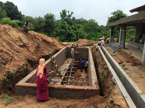 In via di completamento le cisterne dell'acqua piovana